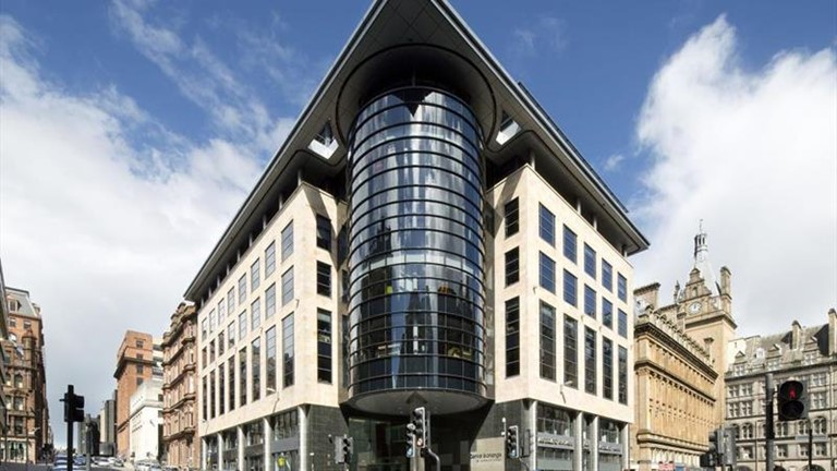 Ashurst LLP office at Central Exchange in Glasgow