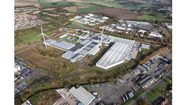 Aerial image of Michelin Scotland Innovation Parc (MSIP), Dundee.