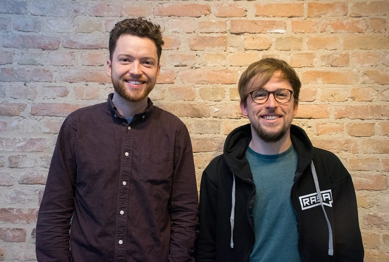 Rasa co-founders Alex Weidauer and Alan Nichol