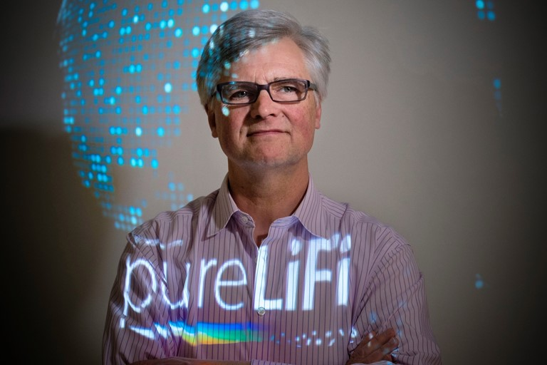 Alistair Banham, CEO, pureLiFI