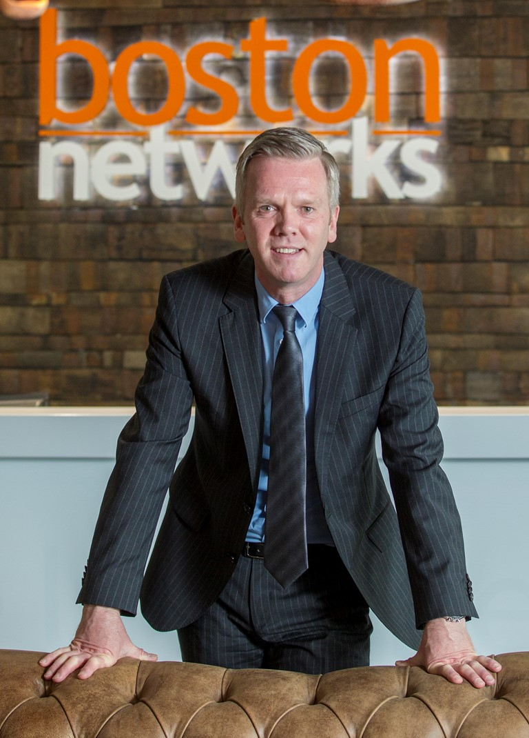 Portrait image of Scott McEwan, Chief Executive, Boston Networks